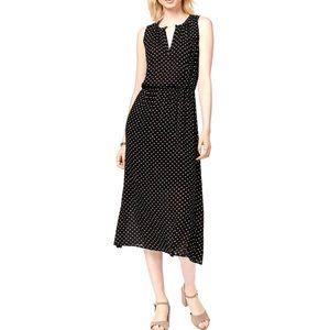 Maison Jules Black Midi Dress